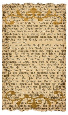 German Script vintage