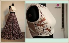 Pretty floral crop top from the house of Mugdha!!Pick it soon.......!!Code:- LHG…