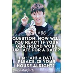 Fact #56  Photo Credit: Mon Chou Chou  @official_monsta_x #monstax #monsta_x  #wonho #shinhoseok #hyungwon #chaehyungwon #jooheon #leejooheon #kihyun #yookihyun #changkyun #limchangkyun #shownu #sonhyunwoo #starshipent  #minhyuk #leeminhyuk #kpop #korean #hyungwonho #showki #monbebe #원호 #형원 #주헌 #민혁 #아이엠