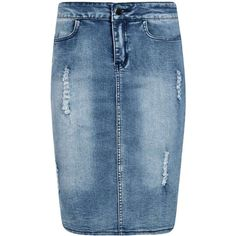 Top below to get access to denim-skirt attire design and style women are wear this fall. Long Denim Skirt Outfit, Denim Maxi, Ripped Denim Skirts, Denim Pencil Skirt, Skirt Maxi, Cute Fashion, Denim Fashion, Modest Fashion, Fashion Outfits