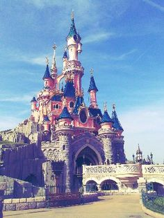 Why I want to go to Disneyland Paris: It combines my two favorite things in the world, Disney and Paris!
