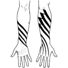 tattoos ❤ liked on Polyvore