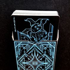 This Futuristic Deck Has A Amazing TRON-Like Style