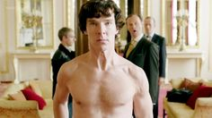 "Benedict Cumberbatch discusses Sexlock...uses word ""girth"".  excuse me...I left something...something...in another room."