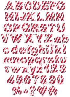 Christmas Balloon Font