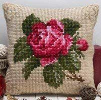 Twilleys - Antique rose Cushion Front - Large Count: Amazon.co.uk: Kitchen & Home