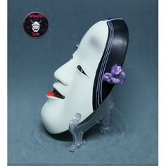 Ko omote mask on sale Japanese Noh Mask, Oni Mask, Japanese Folklore, Theatre, Oriental, Asian, Room, Shoes, Japanese Mask