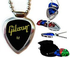 Collar de PICKBAY guitarra pick holder y por luvthatfunctionalart