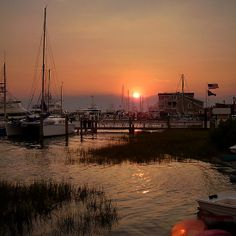 Beaufort NC Waterfront
