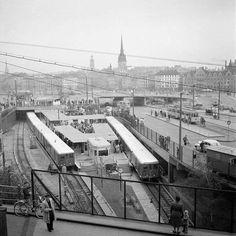 Gröna linjen fyller 65år idag. Första sträckan Hökis till Slussen.