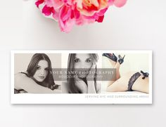 Facebook Timeline Cover - Photography Templates - Photographer Templates - Digital Design Files - Facebook Banner Design - INSTANT DOWNLOAD by ByStephanieDesign on Etsy