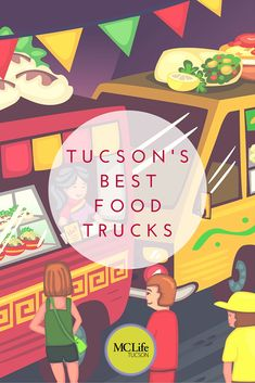 Looking for the best food trucks in Tucson? We& sharing our personal favorites as well as how you can keep up with their schedules! Arizona Road Trip, State Of Arizona, Arizona Travel, Tucson Arizona, Arizona Winter, Tucson Food, Dog Wrap, Best Food Trucks, Beef Hot Dogs