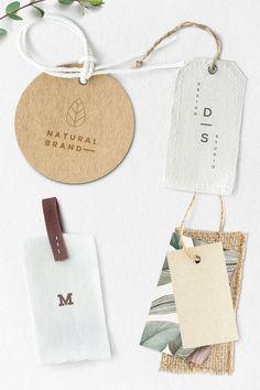 Blank fashion brand label mockup premium image by Corporate Branding, Food Branding, Corporate Design, Personal Branding, Branding Ideas, Identity Branding, Marketing Branding, Kids Branding, Business Branding