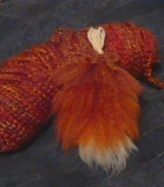 Making A Fox Tail Out Of Yarn, DIY tutorial