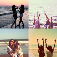 Resultado de imagen de beach friends tumblr
