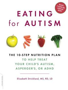 Eating for Autism: The 10-Step Nutrition Plan to Help Treat Your Child's Autism, Asperger's, or ADHD by Elizabeth Strickland,http://www.amazon.com/dp/0738212431/ref=cm_sw_r_pi_dp_.FEpsb1TQ0AD5F66