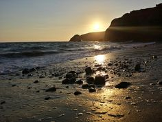 Kilfarrasy Beach in Co Waterford, Co Waterford