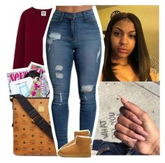 """Follow For A Follow Back,😘"" by santo-wife ❤ liked on Polyvore featuring beauty and UGG Australia"
