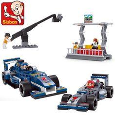 Sluban F1 Racing car Blocks set GOOD for Children Juguetes develop their ability