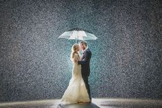 Sometimes rain on your wedding day isn't so bad after all! | Thomas Stewart Photography