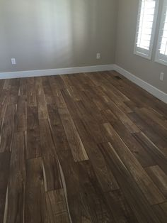 Real hand sawn hickory hardwood flooring? Nope. Just Manningtonu0027s Sawmill  Hickory from the Restorations