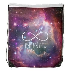b4fbdfa38 Infinity loop and galaxy space hipster background drawstring backpack  Galaxy Backpack, Hipster Backpack, Hipster