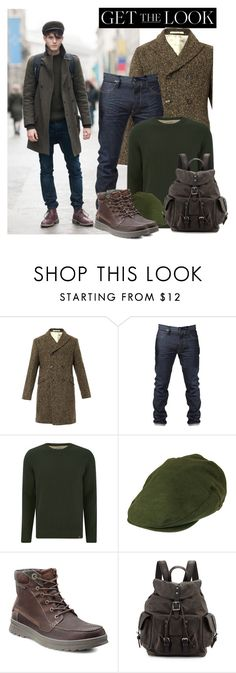 """""""Menswear - Get the look"""" by anne-mclayne ❤ liked on Polyvore featuring Massimo Alba, Tokyo Laundry, Christys', ECCO, Frye, GetTheLook and menswear"""