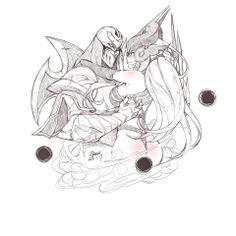 Zed&Syndra by EJAMI