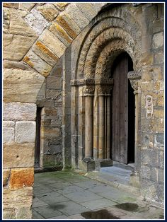 Small south Doorway Dumferline Abbey Church