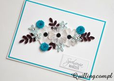 quilling, greeting card, handmade, quilling.com.pl