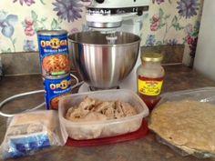 This Mama says......: Chicken & Bean Burritos - Freezer Friendly