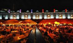 Berlin Hackescher Markt by night. #place #restaurant #berlin