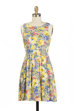 Blanca Dress Yellow