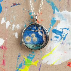 Firefly totem necklace by le animalé & Sarah-Lambert Cook