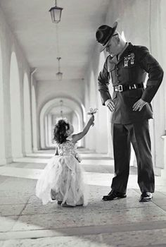 Little girls will always love a Hero
