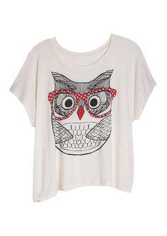 Owl with glasses! @Delia's.