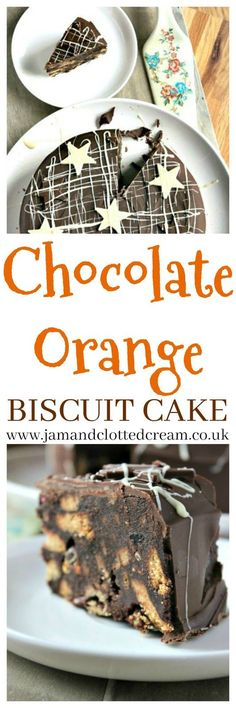 Chocolate Orange Biscuit Cake: An Alternative Christmas Cake