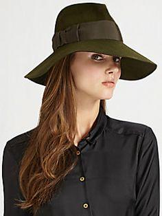 Eric Javits - Grosgrain Bow Felt Hat