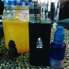at Bucharest first Vape Bar with Cuboid, Theorem and Vader