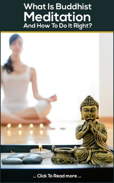 Yoga Poses : Do you want to enjoy the peace of mind? Well, we are talking of Buddhist Meditation here! It helps you beat the blues of the rat race. Want to know more? Check out this post! #yoga#yogaposes #yogafitness