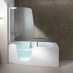 Spa badekar 382 J med indgangdør for nem adgang. #interior #bathroom