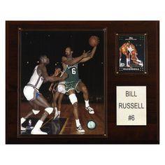 NBA 12 x 15 in. Bill Russell Boston Celtics Player Plaque - 1215BRUSS