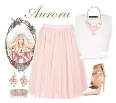 """Aurora"" by violetvd ❤ liked on Polyvore featuring Disney, Ted Baker, BCBGMAXAZRIA, Kendra Scott, Oasis and H&M"