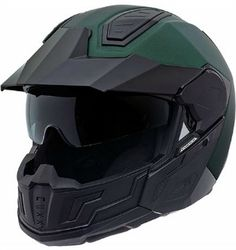 Nexx X40 Enduro Helmet in forest green