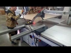 Работа Форматно раскроечного станка ALTENDORF F45 - YouTube Table Saw, Gym Equipment, Youtube, Workout Equipment, Youtubers, Youtube Movies
