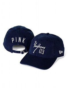 PINK New York Yankees Vintage Baseball Hat #VictoriasSecret http://www.victoriassecret.com/pink/new-york-yankees/new-york-yankees-vintage-baseball-hat-pink?ProductID=109308=OLS?cm_mmc=pinterest-_-product-_-x-_-x