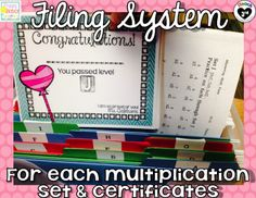 Mastering Multiplication with Otter Creek. Great organizational method to keep math facts consistent. Lots of visuals.