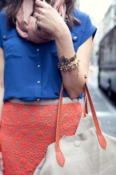 Lace Detail.