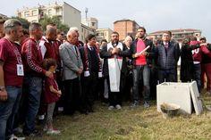 Posata la prima pietra del nuovo stadio Filadelfia a #Torino