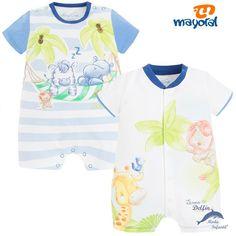 Set de 2 pijamas cortos MAYORAL selva azul